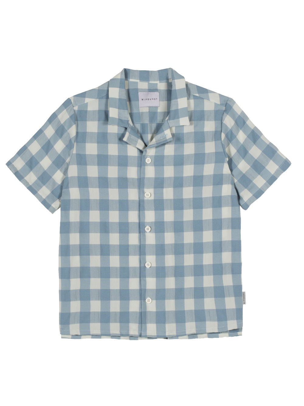 Blue Vichy Shirt