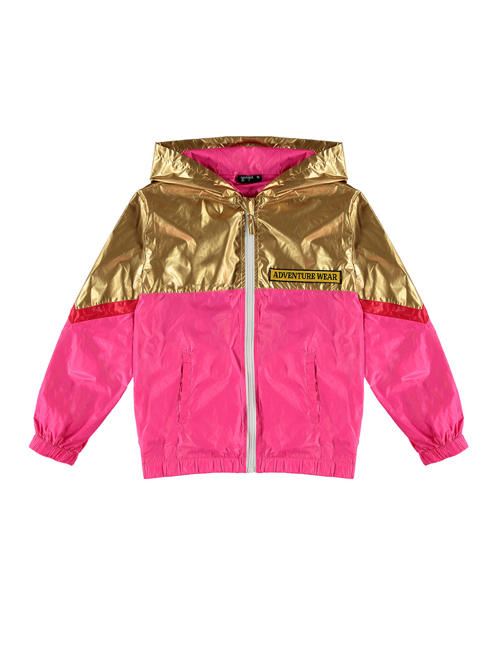 Gold Mix Windbreaker