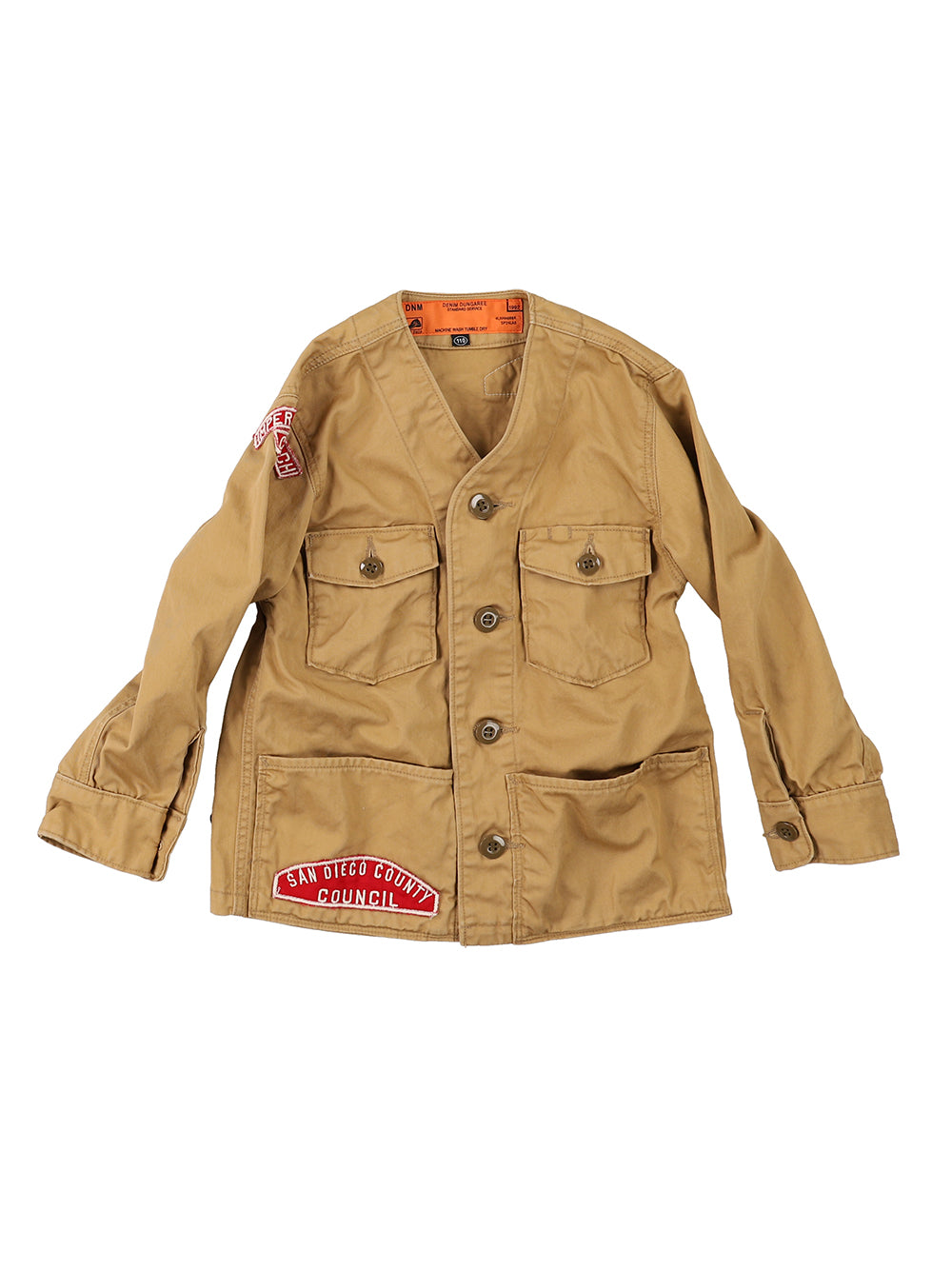Chino Fabric Patch Jacket