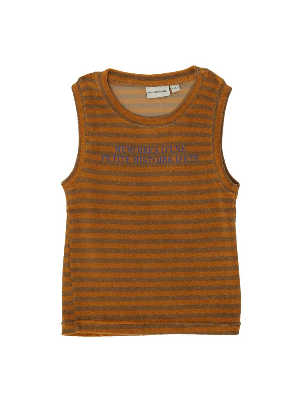 Terry Striped Tank Top