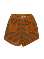 Terry Striped Shorts