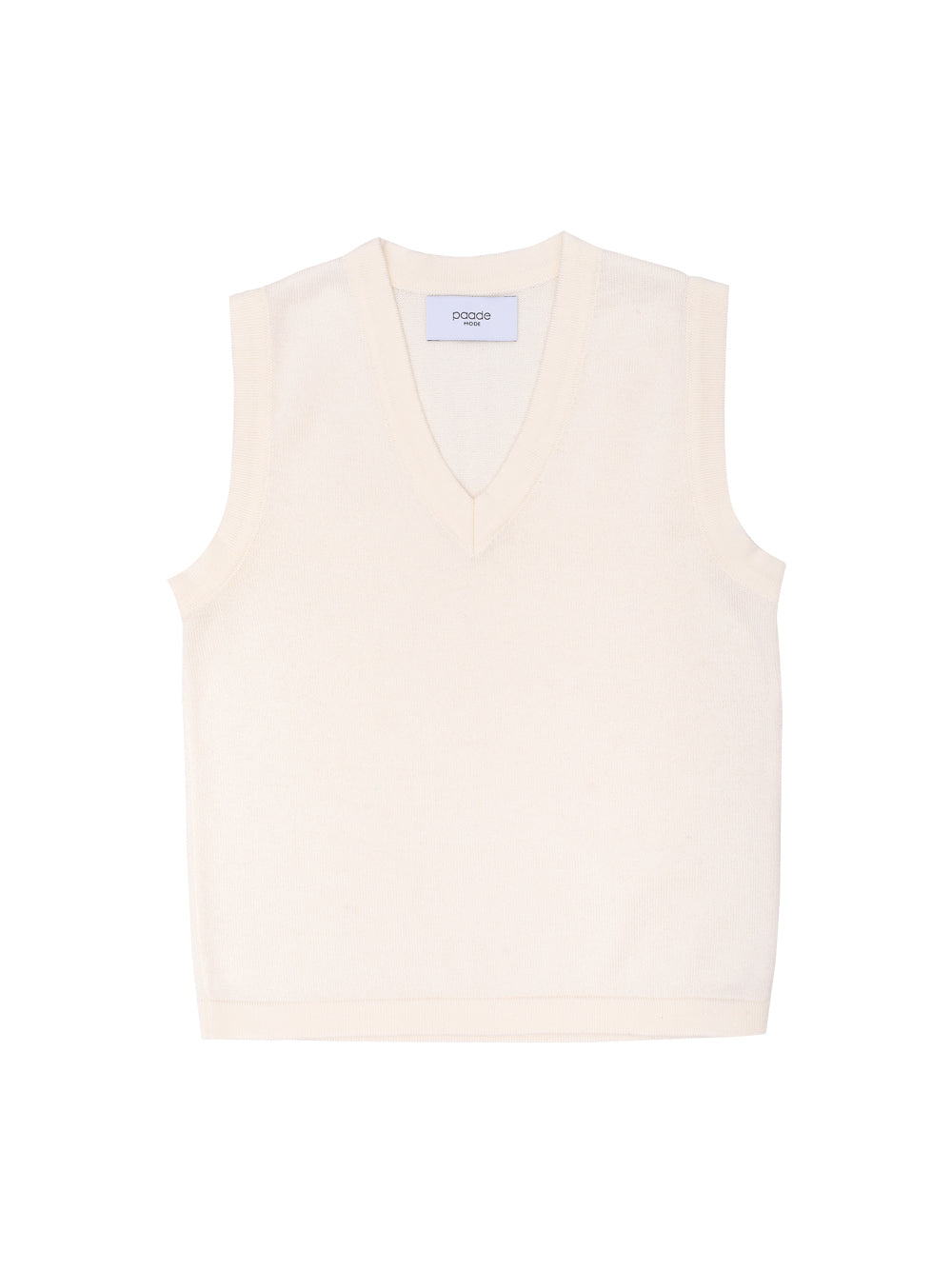 White Cotton Vest