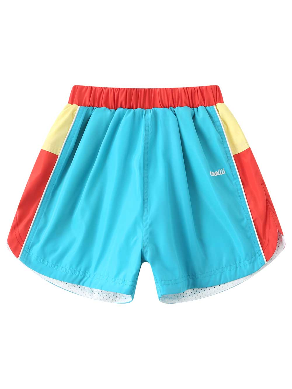 Blue Memory Farbic Shorts