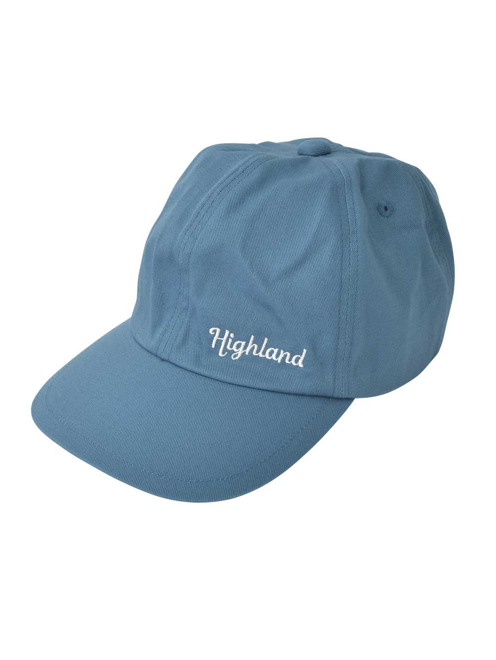 Blue Embroidered Cap
