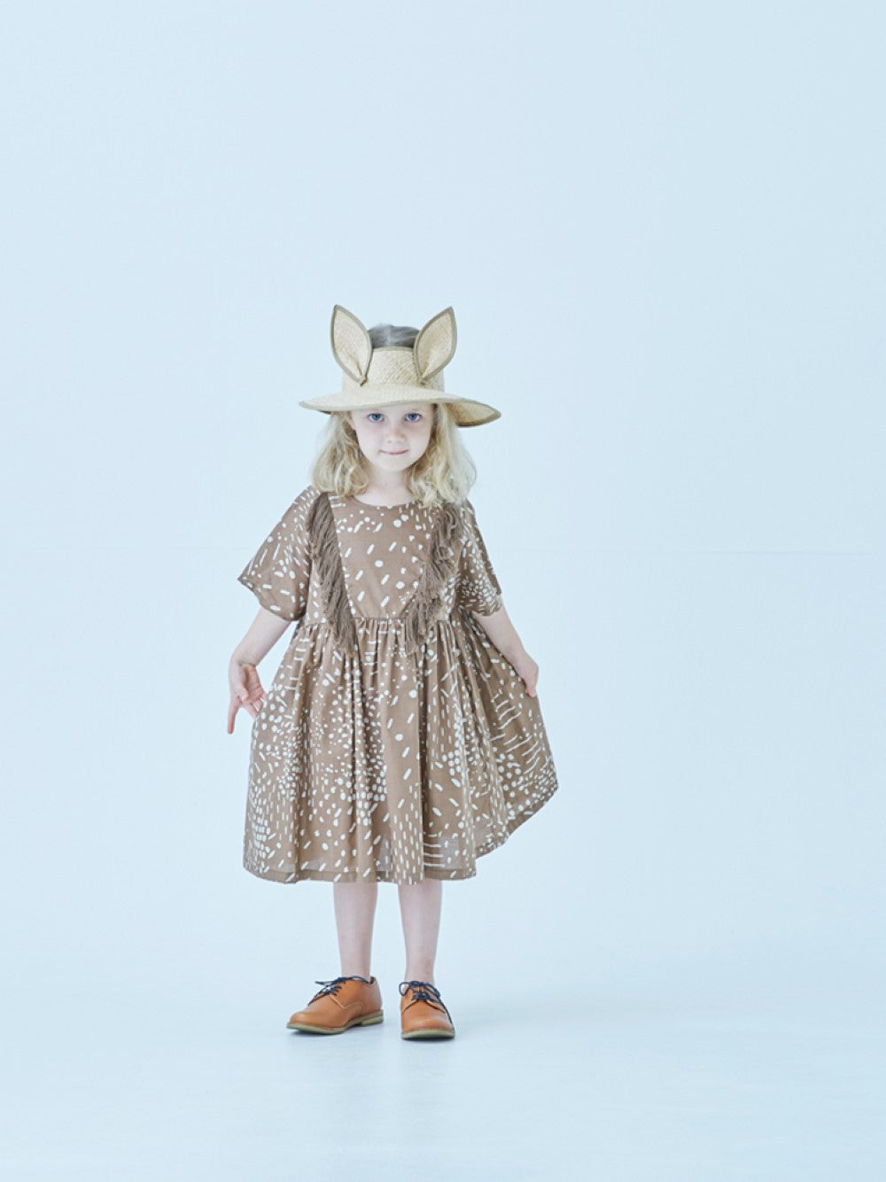 Brown Qilin Dress