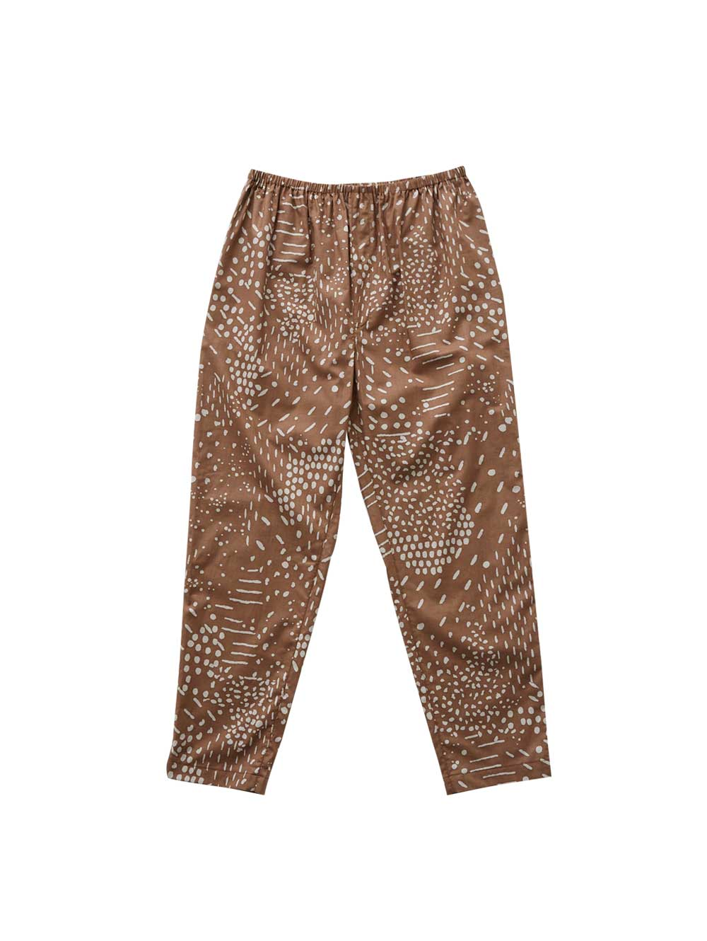 Brown Woman's Qilin Pants