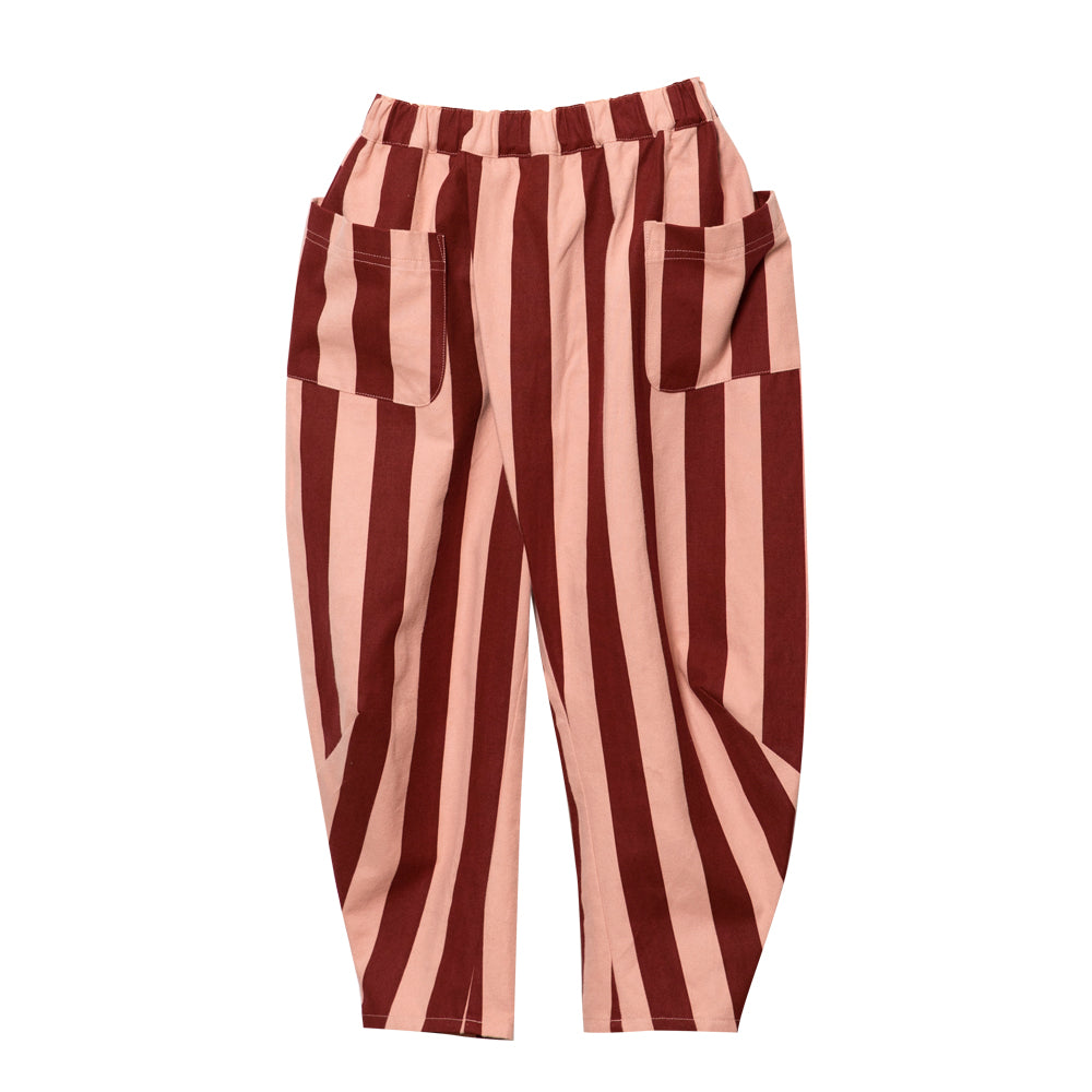 Pink and Wine Pocket Pants