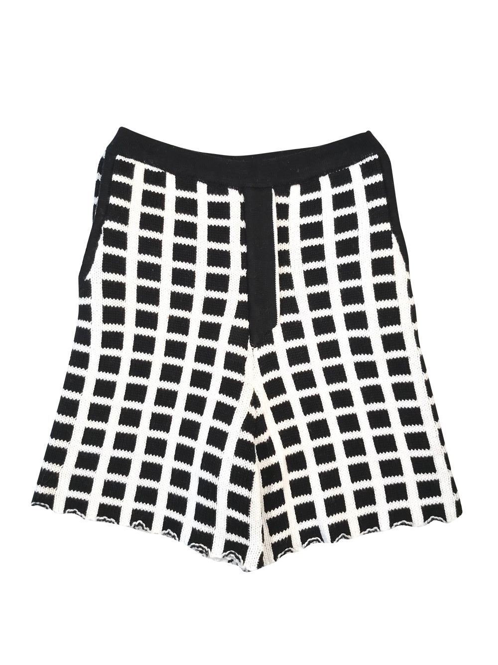 Black and White Shorts