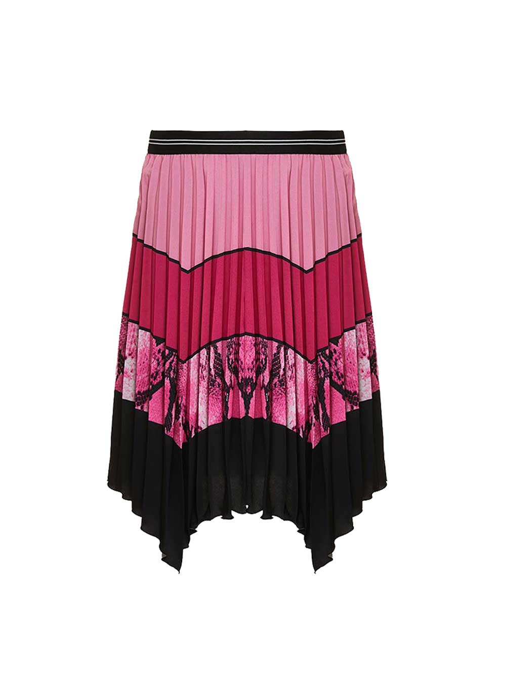 Python  Panel Pleated Skirt