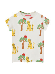 Leopard and Tree Tee