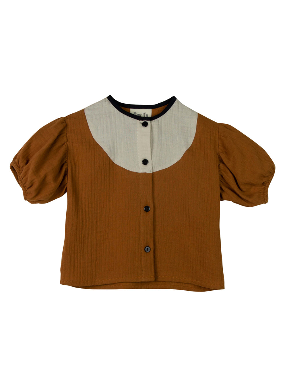 Brown Bambula Blouse