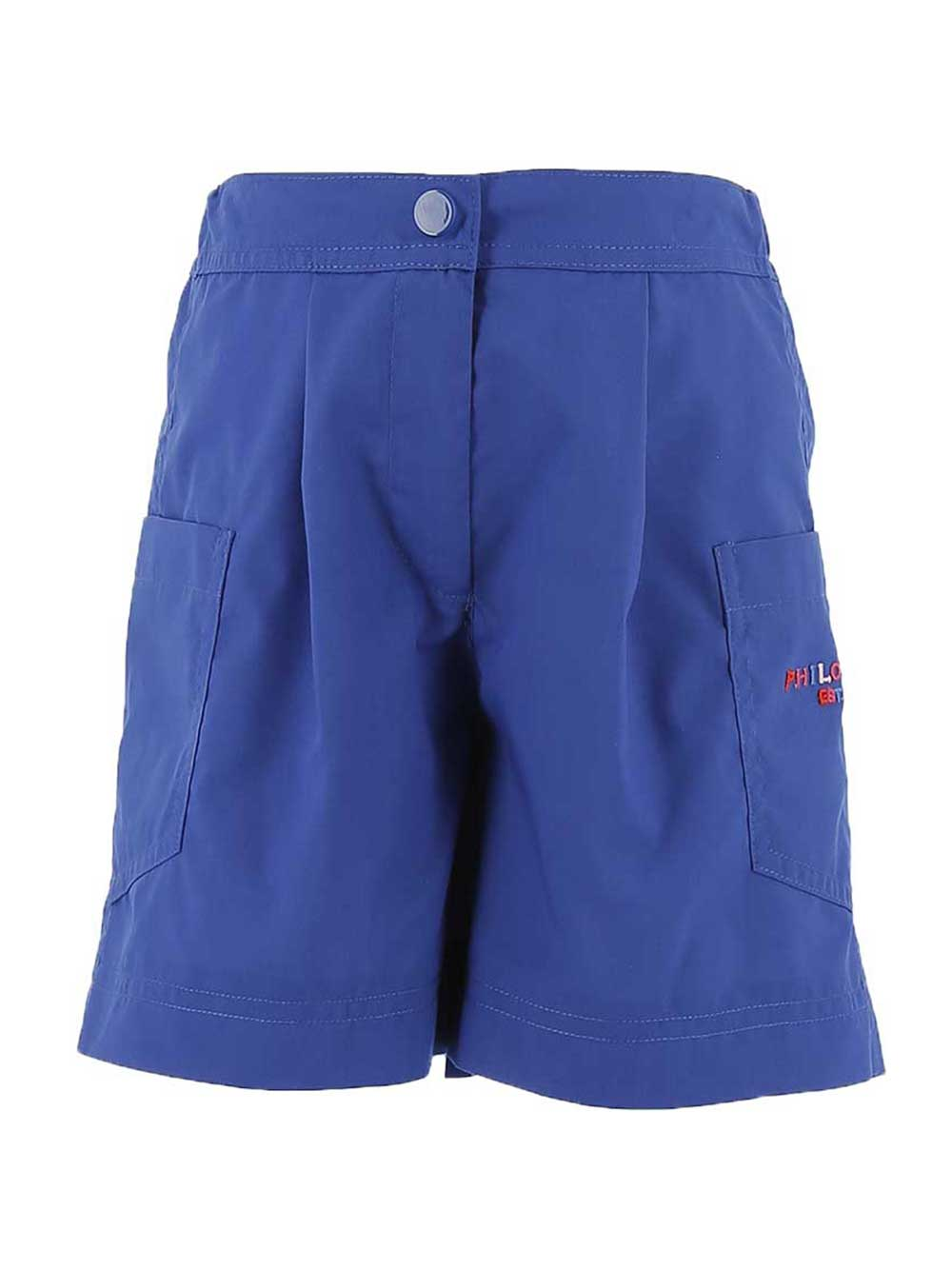 Blue Pocket Philosophy Shorts