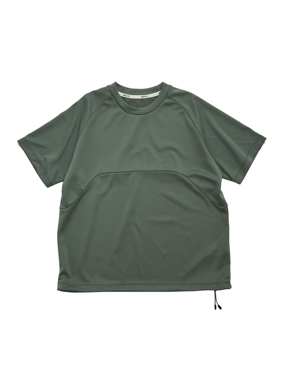Ashgreen Drawcord T-Shirt