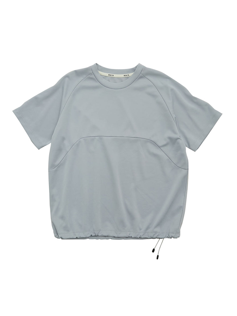 Grey Drawcord T-Shirt