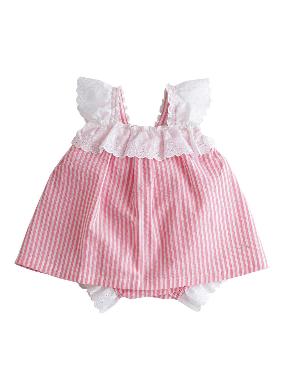 Seersucker Baby Dress