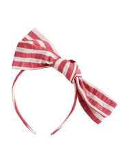 Red Striped Headband