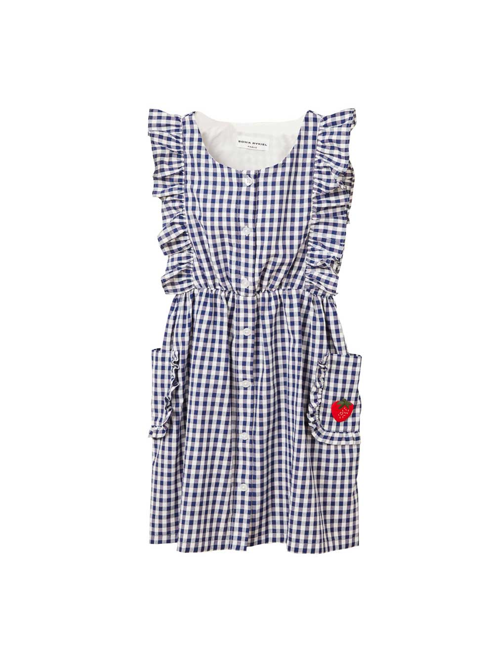 Folie Gingham Dress