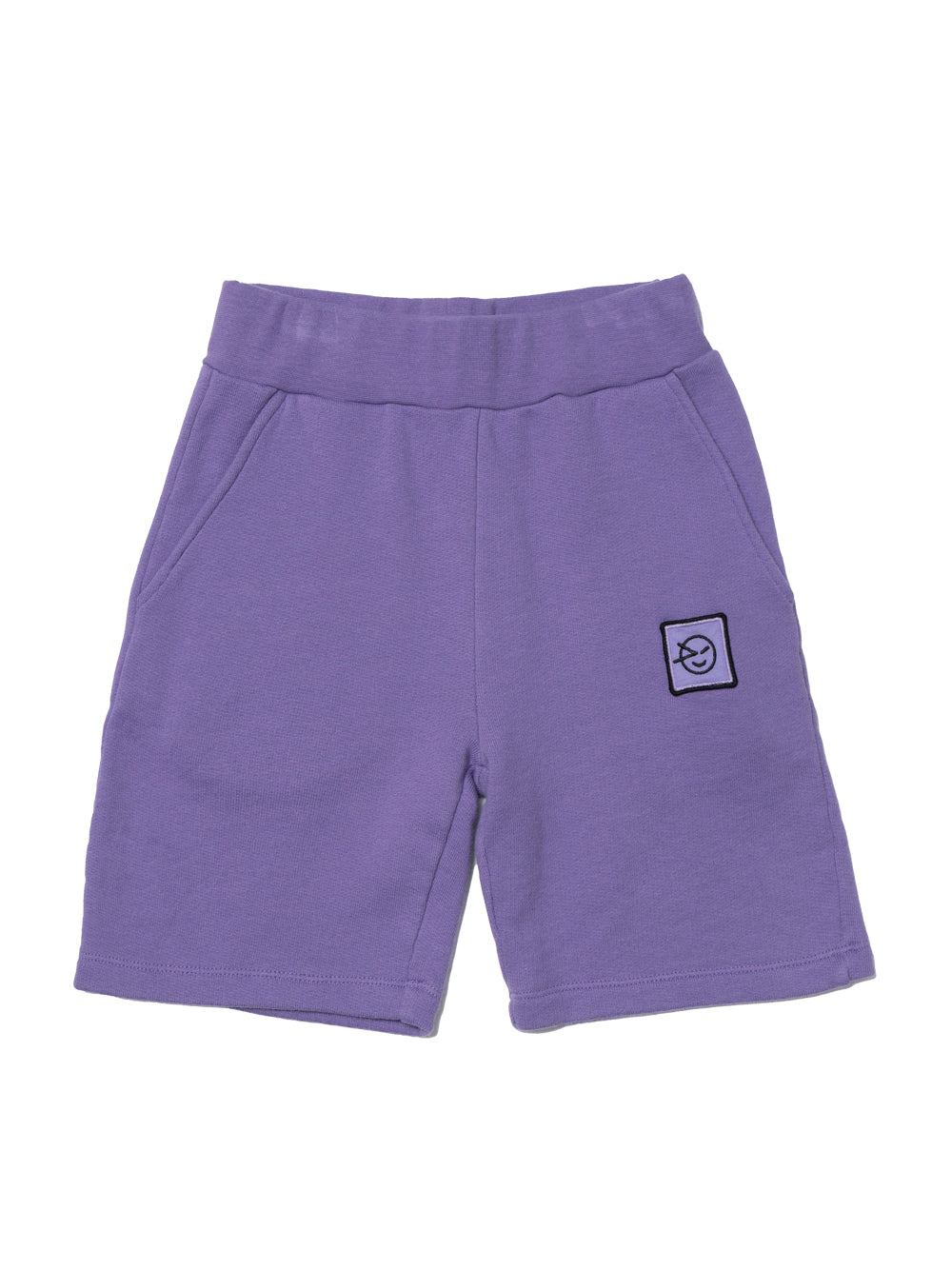 Purple Track Shorts