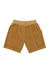Side Pocket Terry Shorts