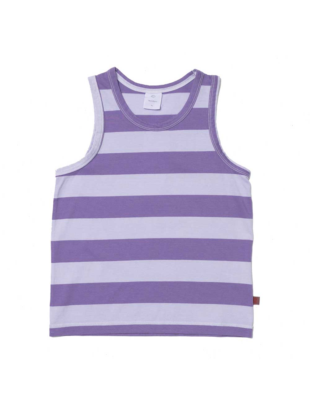 Purple Striped Tank Top