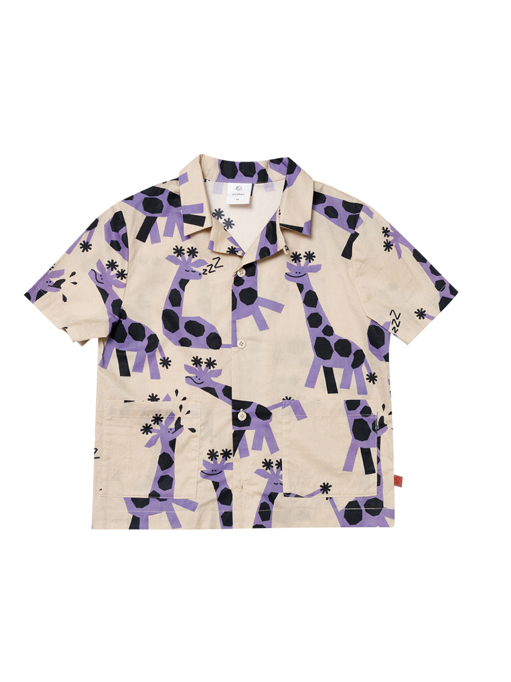 Savanah Safari Print Shirt