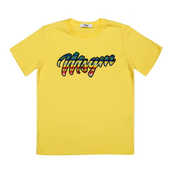 Yellow MSGM T-Shirt