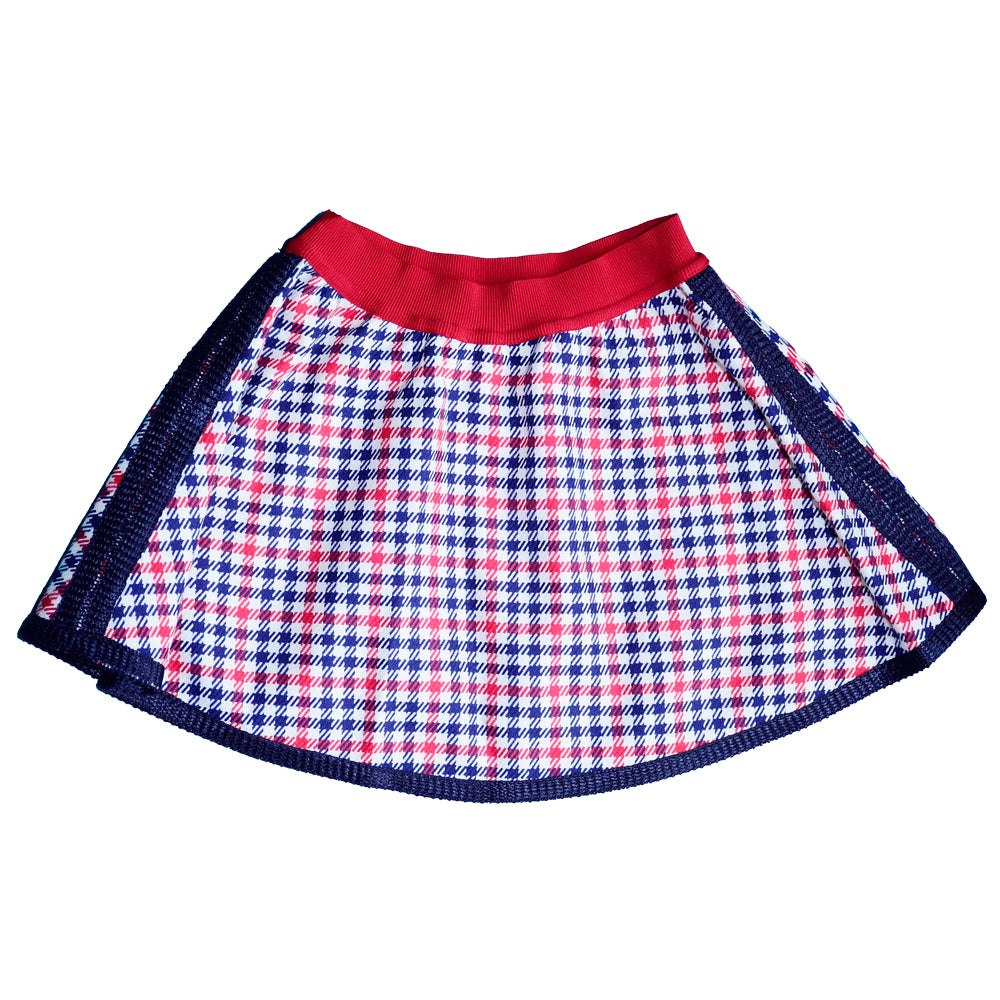 Mimisol Houndstooth Baby Skirt