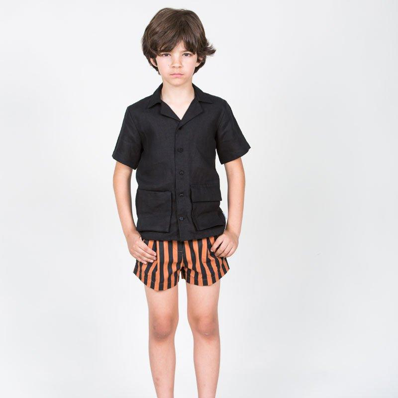 Peter Striped Shorts