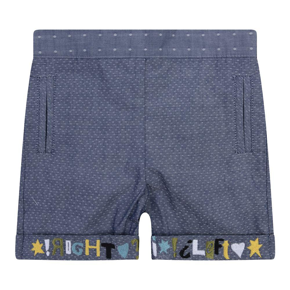 Pepe Blue Shorts