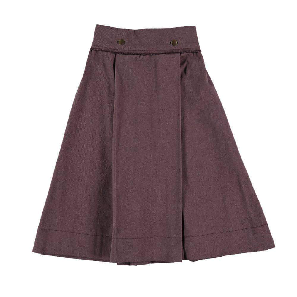 Aubergine Manet Skirt