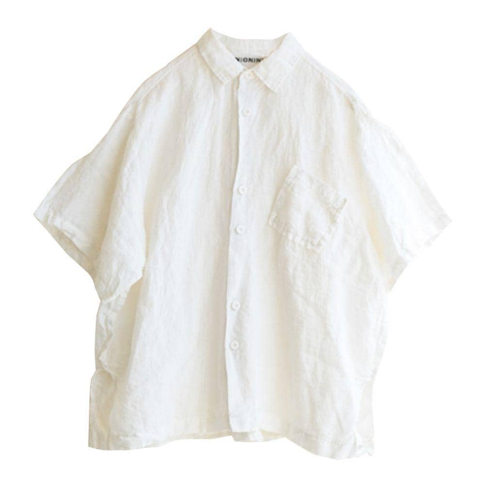 White Linen Big Shirt