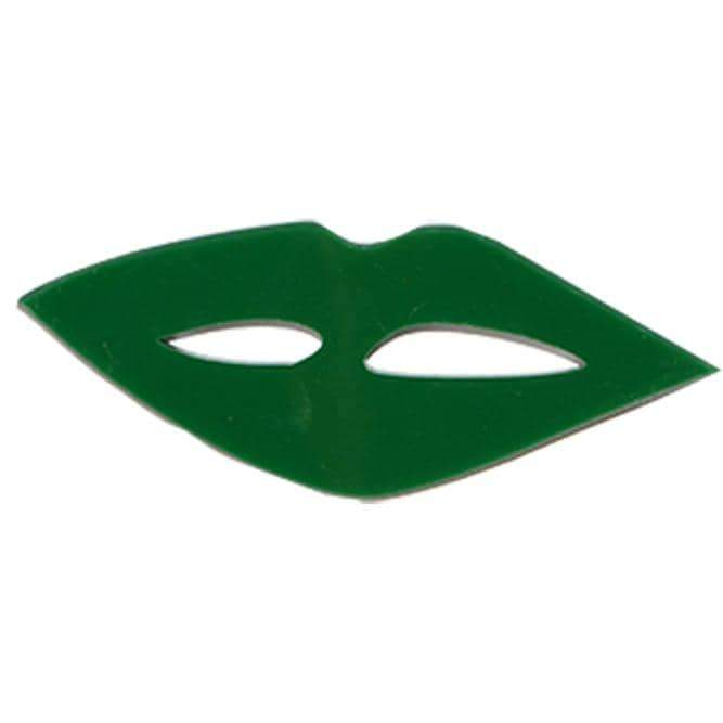 Green mouth pin