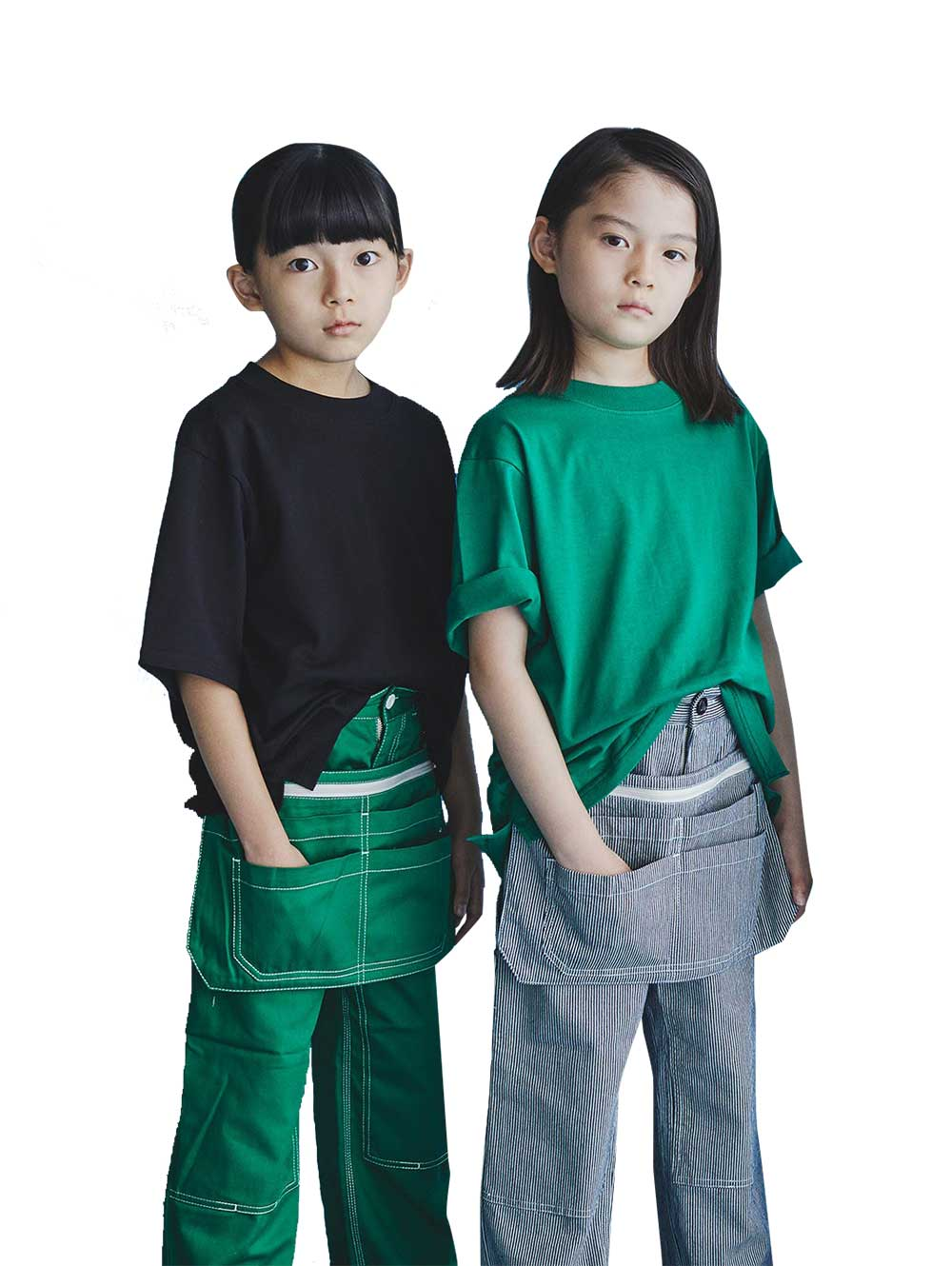 Green Painter Pants