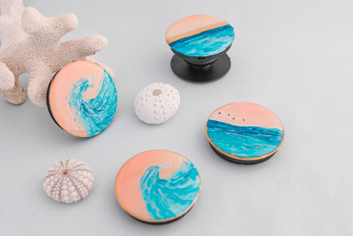 Sunset 'Pop Socket' Phone Grip