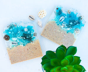 'Treasures From The Sea' Coasters
