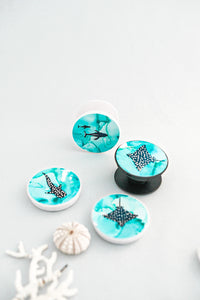 Ocean Abstract 'Pop Socket' Phone Grips PRE ORDER
