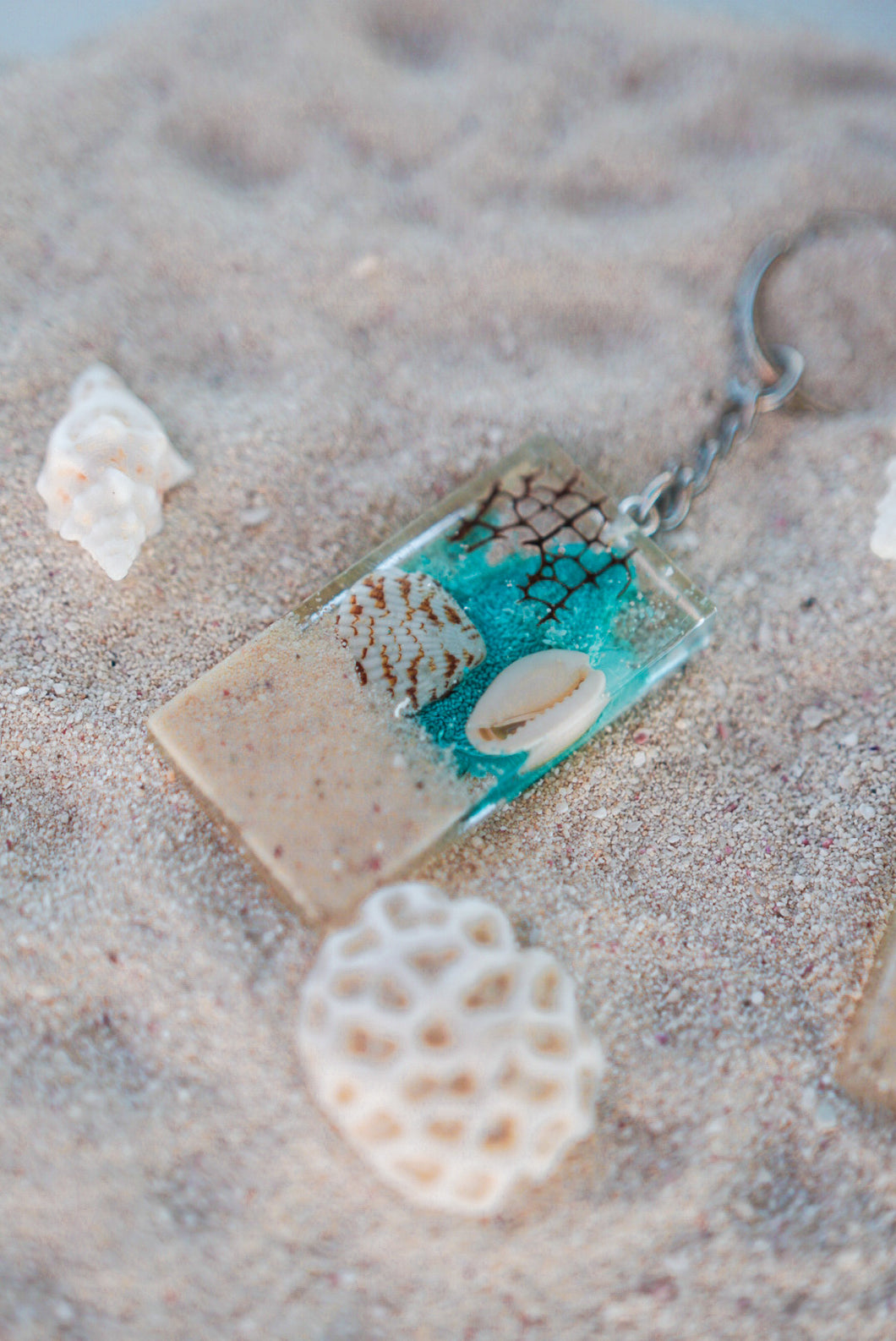 'Treasures From The Sea' Keychains