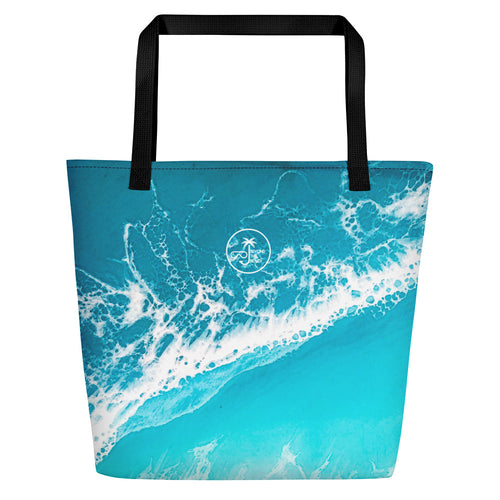 'Raised By The Waves' Beach Bag