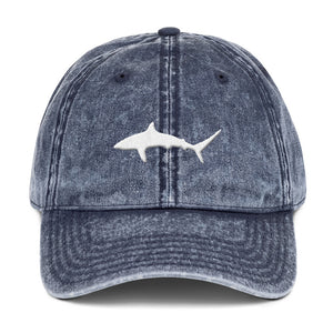 'Sharktivity' Distressed Dad Hat