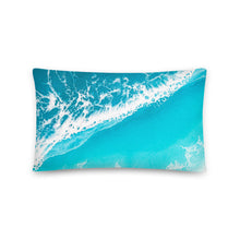 Load image into Gallery viewer, 'Raised By The Waves' Throw Pillow