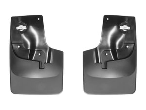 DDF Automotive WeatherTech 110052 No Drill Mudflaps - Front Pair - Black