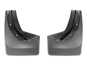 DDF Automotive WeatherTech 120039 No Drill Mudflaps - Rear Pair - Black