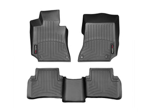 DDF Automotive WeatherTech 446811-442583 FloorLiner - Front and Rear - Black