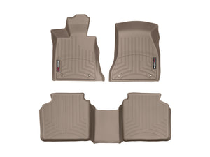 DDF Automotive WeatherTech 459391-458742 FloorLiner - Front and Rear - Tan