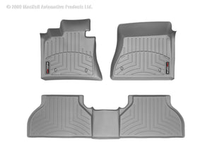 DDF Automotive WeatherTech 46571-1-2 FloorLiner - Front and Rear - Gray