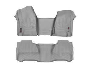 DDF Automotive WeatherTech 46480-1-5 FloorLiner - Front and Rear - Gray