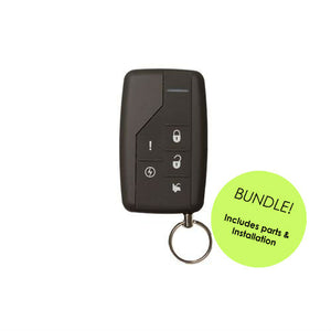 AutoStart BUNDLE AS-1780 1-Way Remote Starter (Includes All Parts and Installation)
