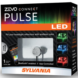Sylvania Zevo Connect Pulse Universal Full-Colour Bluetooth LED Healights
