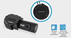 BLACKVUE DR900S-1CH 1-Channel Dashcam with Wi-Fi, 4K UHD Resolution, up to 60fps (FHD), and built-in GPS