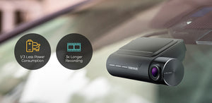 Thinkware F800PRO Front and Rear Dash Cam with 1080p Full HD, Built-In Wifi and GPS